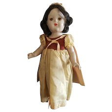 "1938 Madame Alexander 16 1/2"" Snow White Doll"