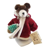 "Adorable Artist Linda Nelson Father Christmas Teddy Bear 3"""