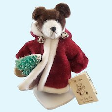 Adorable Artist Linda Nelson Father Christmas Teddy Bear 3""