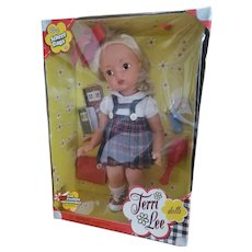 2004 School Days Terri Lee Doll Never Removed From Box