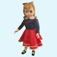 "Beautiful 1953 Madame Alexander 17"" Annabelle Doll"