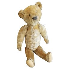 Adorable Antique 1910 Ideal Mohair Teddy Bear