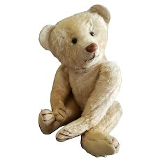 "Charming Antique 18"" Uncle Remus or Bing Mohair Teddy Bear"