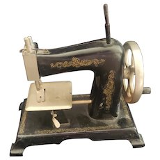 Vintage Made in Germany Toy Sewing Machine