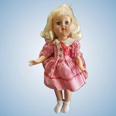 Very Pretty 1948 Ideal Platinum Blonde Toni Doll