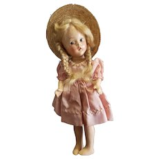 "1930's Madame  Alexander 9"" Composition Doll"