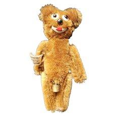 Vintage Schuco Mohair Janus U.S. Zone Germany Teddy Bear