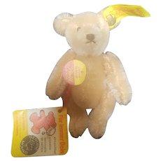 """Vintage Steiff 4"""" Gold Teddy Bear All I.D."""