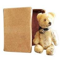 Vintage Schuco Yes No Teddy Bear in Box