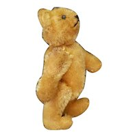 "1930's Steiff 3 1/2"" Mohair Teddy Bear Cute!"
