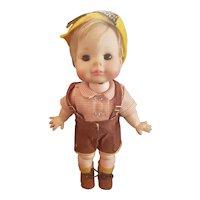 """1960's Madame Alexander 11 1/2"""" Sound of Music Friedrich Doll"""