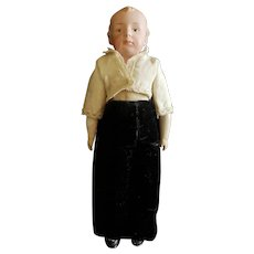 """Vintage Heubach 7872 Bisque Head Pouty Character Doll 10 1/2"""""""