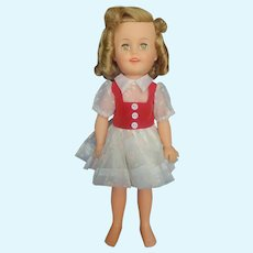 1972 Montgomery Wards Ideal Shirley Temple Doll