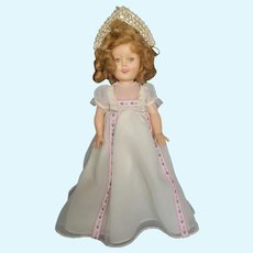 1957 Ideal Redressed Shirley Temple Doll 15""