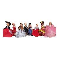 Vintage Lot of Madame Alexander Cissette Dolls