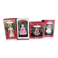 Vintage Lot of Hallmark Madame Alexander Ornaments