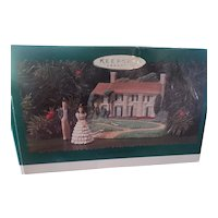 Vintage Hallmark Gone With The Wind Doll Ornament Set
