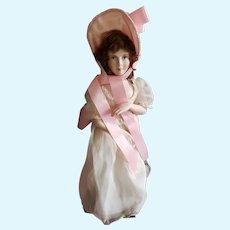 Vintage UFDC Artist Bisque Pinkie Doll