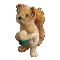 1950's Schuco Noah's Ark Mohair and Chenille Squirrel