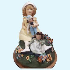 2005 R. John Wright Marcella A Raggedy Ann Story Doll Set in Box #66/100