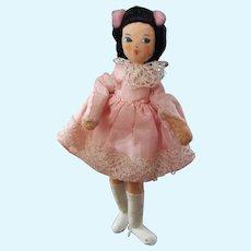 Vintage German BAPS School Girl Doll