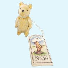 "Vintage 2 3/4"" Classic Pooh Teddy Bear"