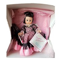 """1990 Madame Alexander Doll Convention Riverboat Queen Lena Doll 8"""""""