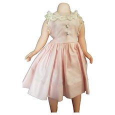 Mint 1950's Madame Alexander Cissette Doll Polished Cotton Tagged Dress