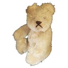 """Adorable 1940's 3 3/4"""" Mohair Steiff Teddy Bear"""