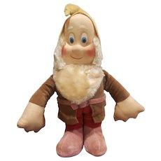 "Vintage Krueger Snow White Bashful Dwarf Doll 12"""