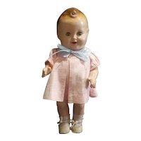 """Vintage Freundlich Baby Sandy Composition Doll 11 1/2"""""""