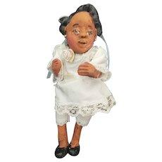 Vintage Artist Mississippi Mud Doll by Lorraine Gendron