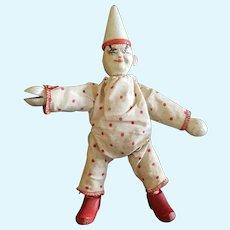 Vintage Schoenhut Humpty Dumpty Circus Clown & Accessories
