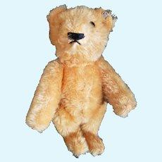 """1950's Steiff 5 1/2"""" Mohair Teddy Bear with Button"""