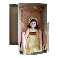 1962 F.A.O Schwarz Madame Alexander Katie Doll in Box