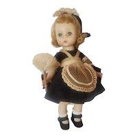 "1956 Madame Alexander Parlor Maid Alexander-kin Doll 8"" All Original"