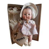 "Minty 1937 Madame Alexander 11 1/2"" Dionne Quintuplet Doll Emile Mint in Box"
