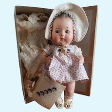 "Minty 1937 Madame Alexander 11"" Dionne Quintuplet Doll Emile Mint in Box"
