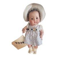 "Minty Mint 1937 Madame Alexander 11 1/2"" Dionne Quintuplet Marie Doll"