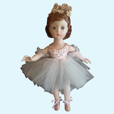 Very Pretty 1950's Madame Alexander Tagged Margaret Ballerina Doll