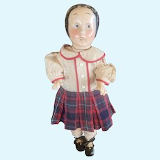 "1925 Horsman 17 1/2"" Ella Cinders Composition Doll"