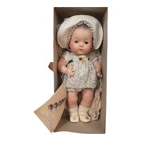 """Minty 1930's Madame Alexander 11 1/2"""" Dionne Quintuplet Cecile Doll Mint in Box"""