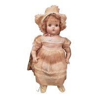 "Adorable 1930's Madame Alexander 20"" So-Lite Baby Doll"