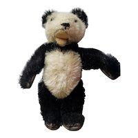 """1950's Steiff 5 1/2"""" Mohair Panda Bear with Button"""