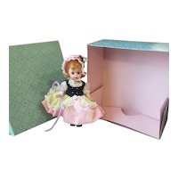 1960's Madame Alexander Bent Knee Little Bo Peep Doll in Box