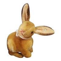 1950's Steiff Mohair Sitting Rabbit with Button