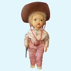Vintage 1950's Terri Lee Jerri Lee Cowboy Doll All Original