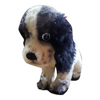 1950's Steiff Large Butch the Cover Mohair Dog with Button