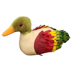 Vintage Steiff Reproduction Felt Duck
