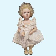 """1979  NIADA Doll Artist Joyce Stafford Bisque Jenny Doll 11 1/2"""""""